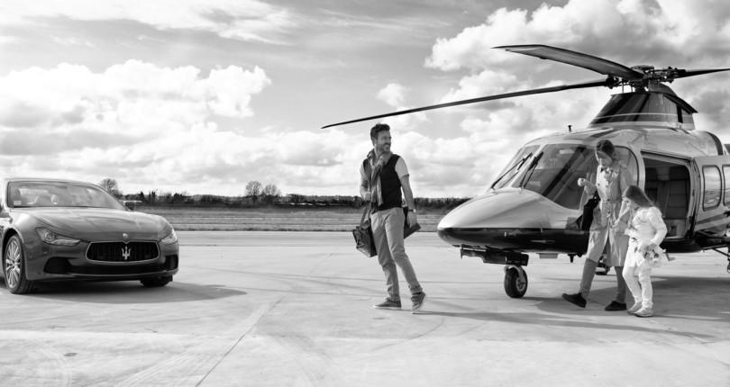 Аренда вертолета на Сардинии