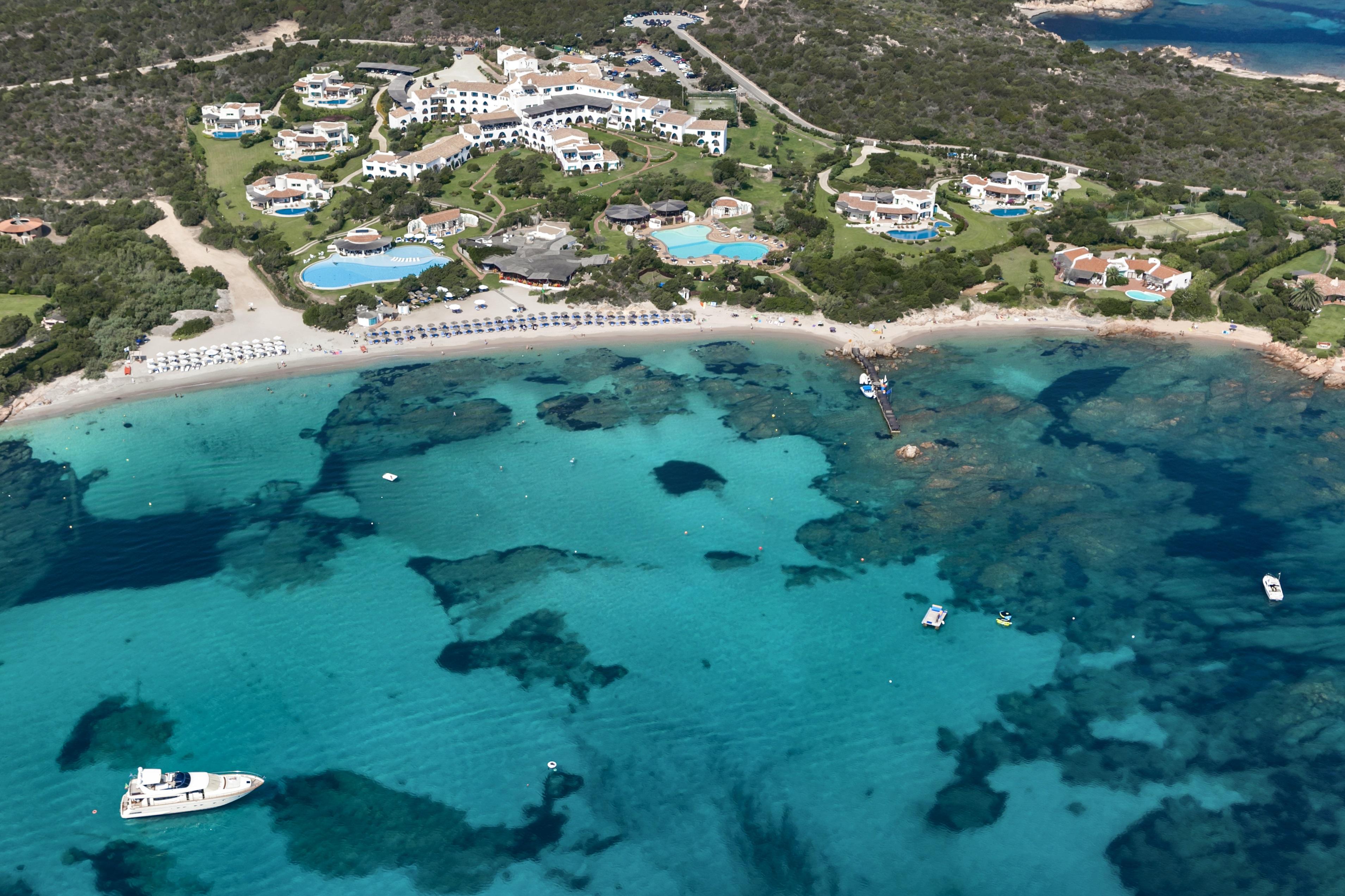 Hotel Romazzino - Aerial View