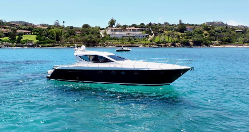 Аренда моторной яхты на Сардинии: Uniesse 54s
