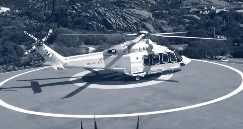 Полеты на вертолете из Монако на Сардинию