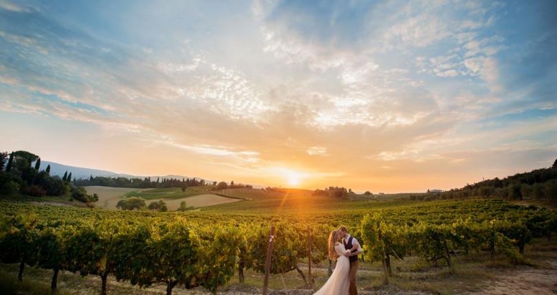 Свадьбы в винодельнях на озере Гарда