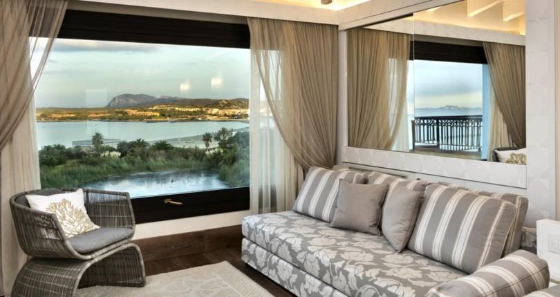 Дизайн-проект и мебелирование виллы на Сардинии