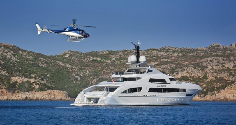 Аренда яхты для торжественных мероприятий на Сардинии